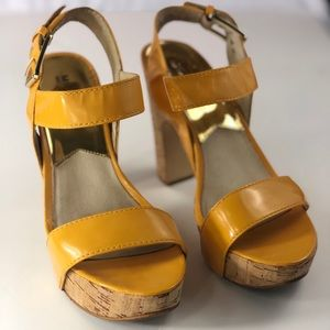 Michael Kors Women's Yellow Heels